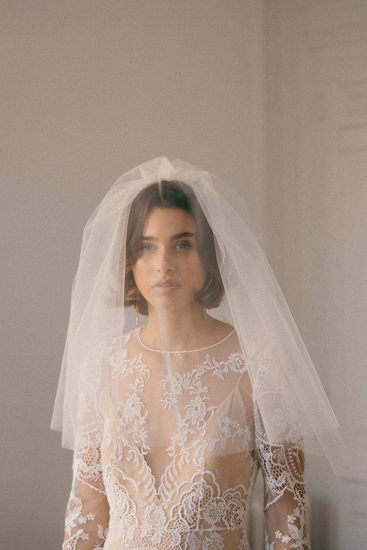 Velos de novia para look de boda